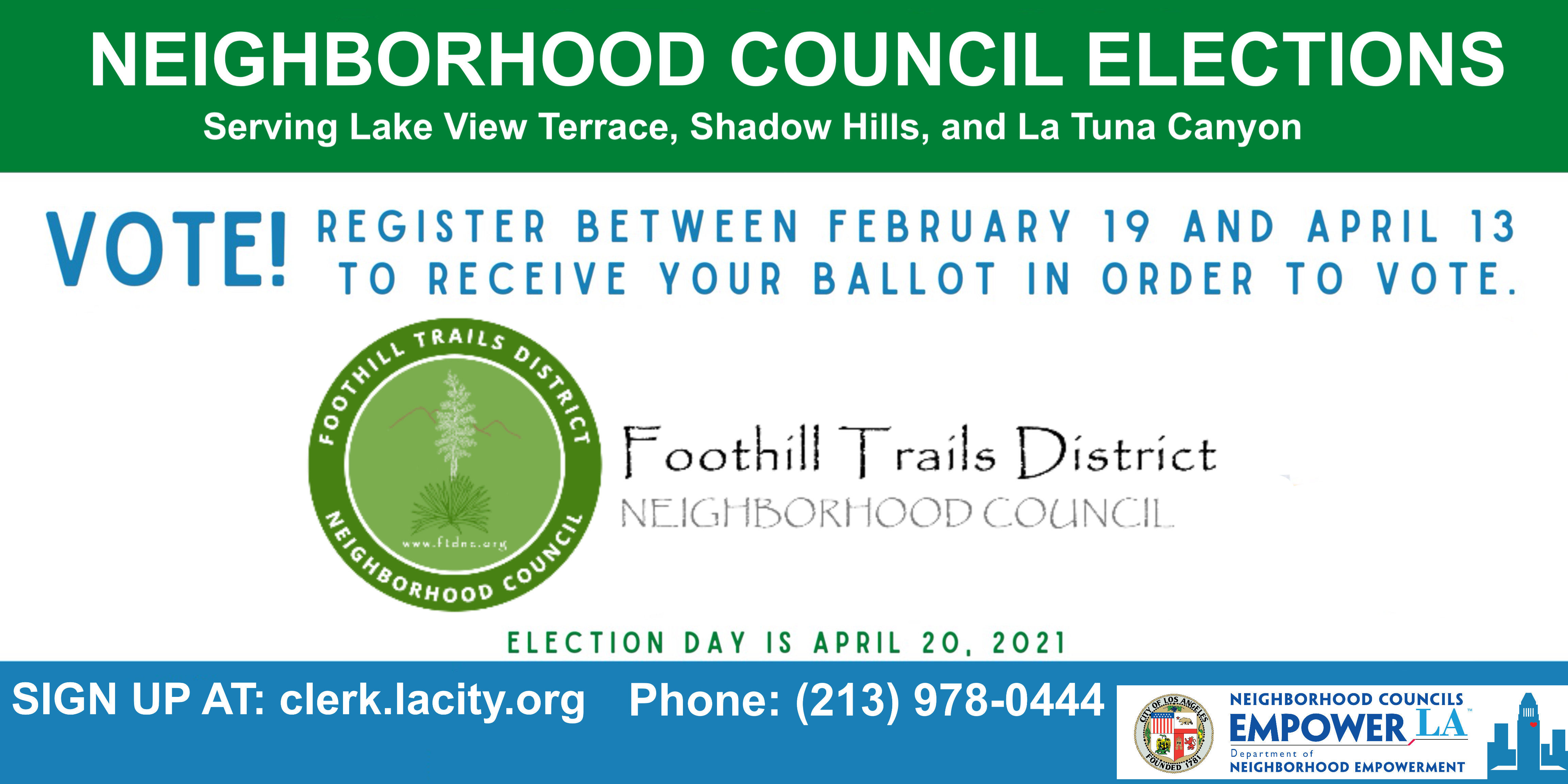 VOTE in the FTDNC Election!!